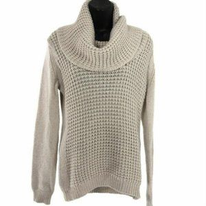 Angel of the North Anthropologie Sweater Beige